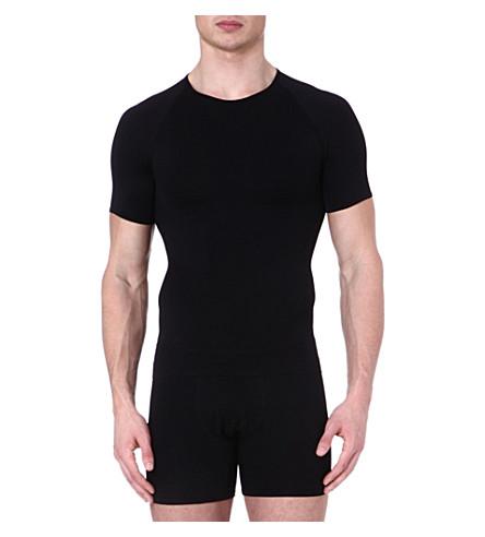 SPANX Zoned performance crew neck undershirt (Black