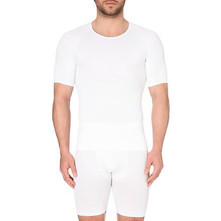 SPANX Zoned performance crew neck undershirt (White