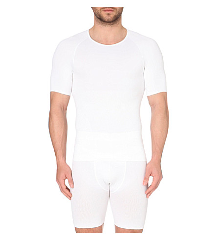 SPANX Zoned performance crew neck undershirt (White