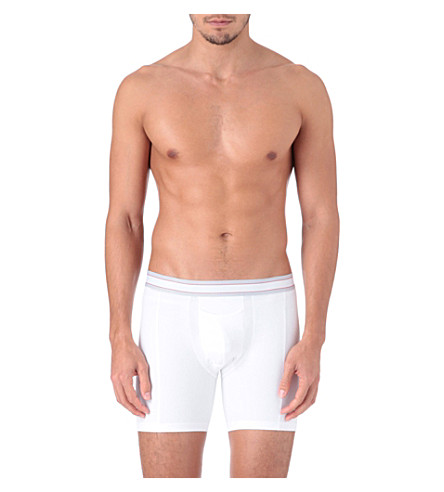 SPANX Cotton comfort boxer briefs (White