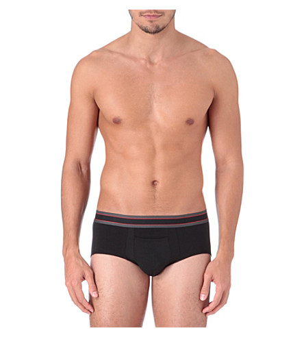 SPANX Cotton comfort briefs (Black
