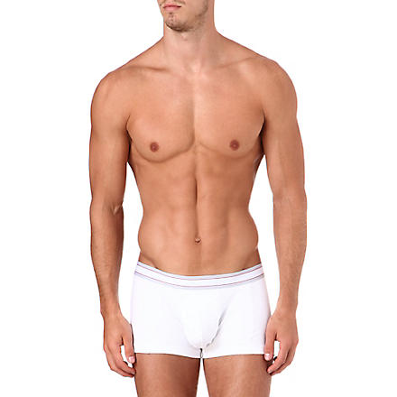 SPANX Short comfort cotton trunks (White