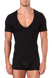 SPANX Deep v-neck t-shirt