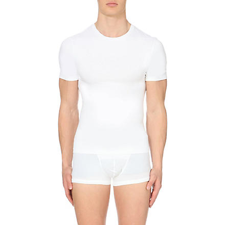 SPANX Light compression crew-neck t-shirt (White
