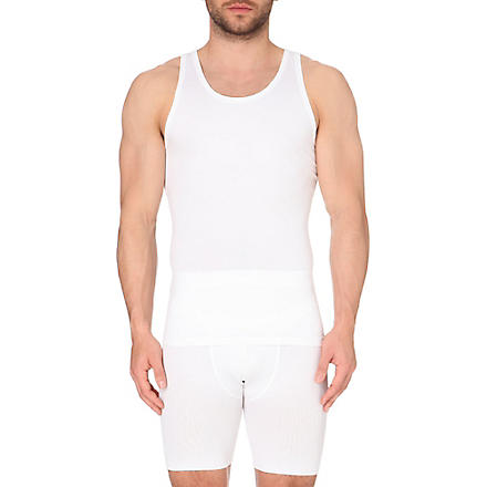 SPANX Light compression tank top (White