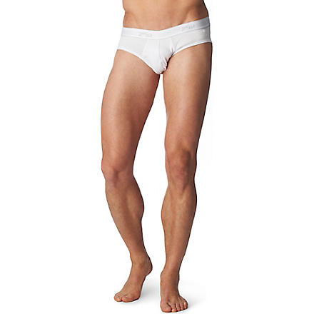 2(X)IST Essential No Show briefs (White