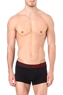 2(X)IST Tartan no-show trunks