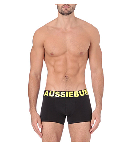 AUSSIEBUM Flame trunks (Black/yellow