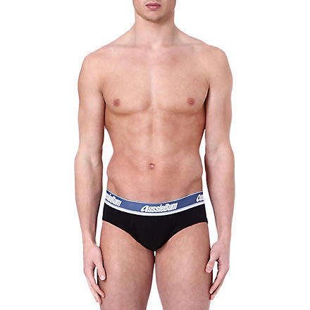 AUSSIEBUM WJPro briefs (Black