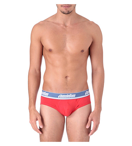 AUSSIEBUM WJPro briefs (Red