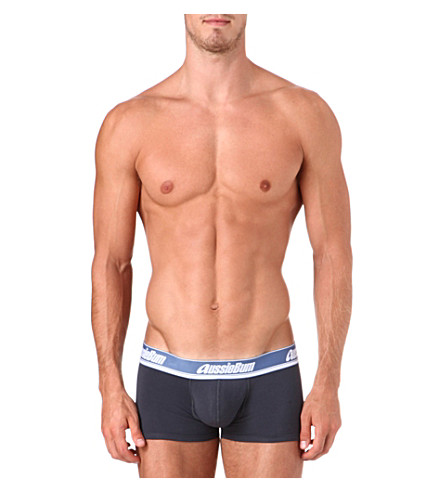 AUSSIEBUM WJPro hipster trunks (Charcoal