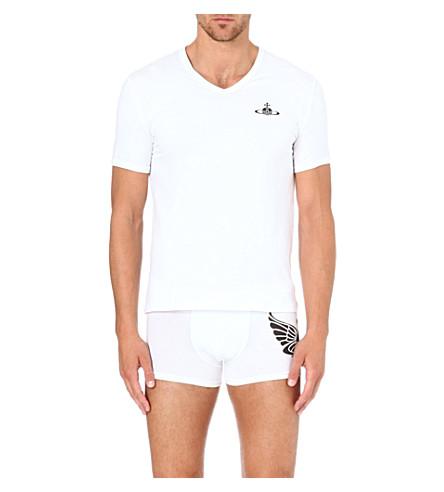 VIVIENNE WESTWOOD Orb logo t-shirt (White