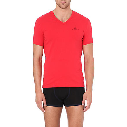 VIVIENNE WESTWOOD Orb logo t-shirt (Red