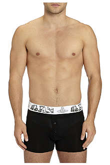VIVIENNE WESTWOOD MAN waistband four-button trunks