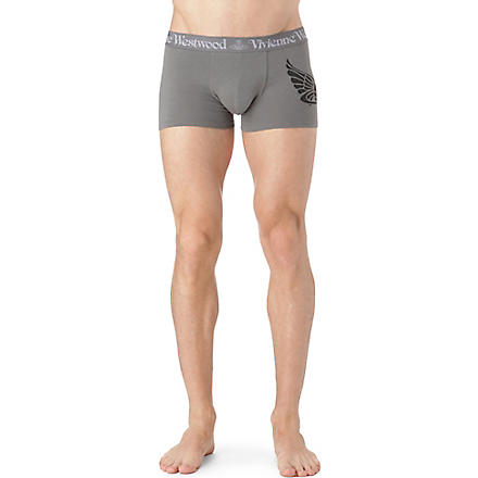 VIVIENNE WESTWOOD Orb logo side trunks (Grey