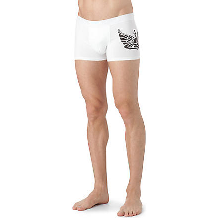 VIVIENNE WESTWOOD Orb logo side trunks (White