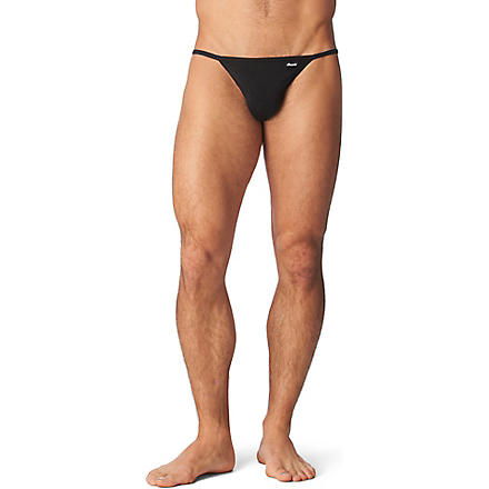 GROOVIN' String bikini briefs (Black