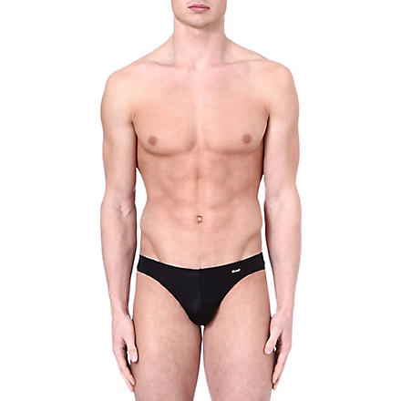 GROOVIN' V–cut bikini briefs (Black