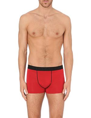 VERSACE Branded waistband trunks