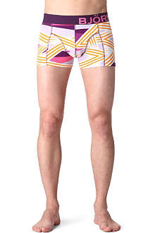 BJORN BORG Boom! Zigzag stretch-cotton trunks