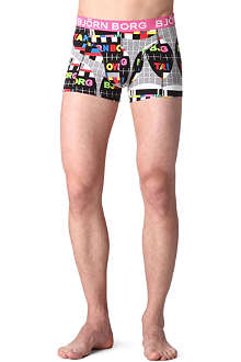 BJORN BORG Broadcast stretch–cotton trunks