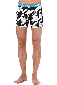 BJORN BORG Houndstooth trunks