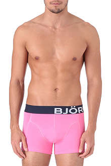 BJORN BORG Two pack of stretch-cotton bold trunks