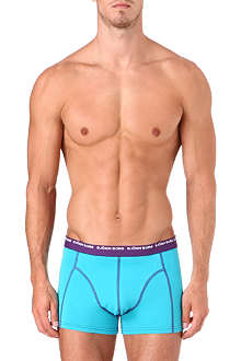 BJORN BORG Pack of three stretch-cotton trunks