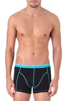 BJORN BORG Pack of three contrast stitch trunks