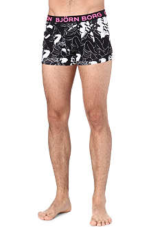BJORN BORG MTV 'Get it On' abstract print trunks