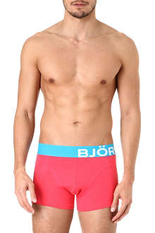 BJORN BORG Bold waistband trunks pack of two