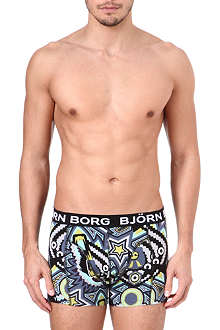 BJORN BORG Masks print trunks