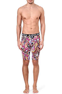 BJORN BORG Masks print long trunks