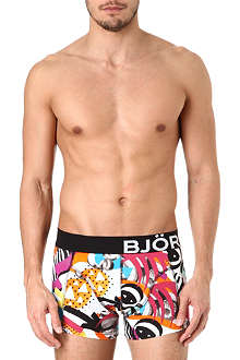 BJORN BORG Collage-print trunks