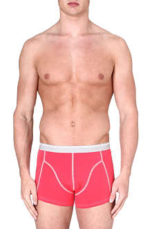 BJORN BORG Plain 3-pack cotton trunks