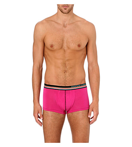 ANDREW CHRISTIAN CoolFlex Spectrum boxers (Berry