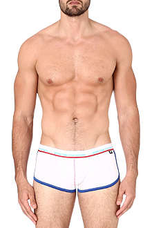 ANDREW CHRISTIAN Retro Pop stretch-cotton trunks