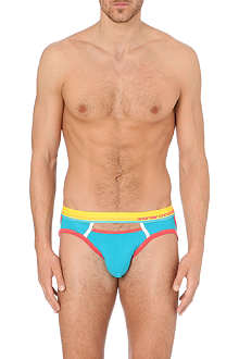 ANDREW CHRISTIAN Colour Vibe hole briefs