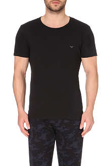 ARMANI Pack of three Eagle logo t-shirts