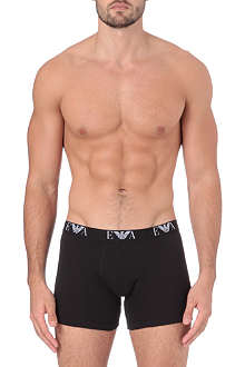 ARMANI Three-pack long trunks