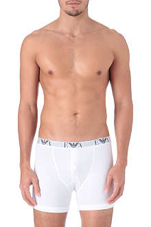 ARMANI Pack of three button-fly trunks