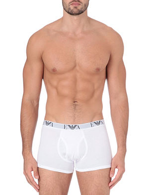 EMPORIO ARMANI Three pack logo trunks