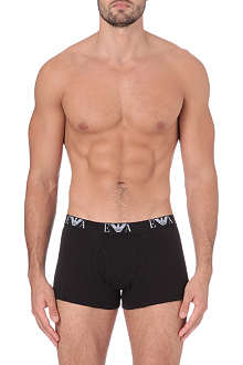 ARMANI Pack of three logo trunks