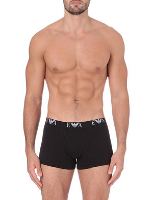 EMPORIO ARMANI Pack of three logo trunks