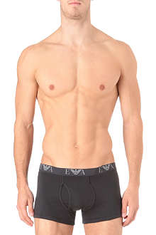 ARMANI Logo-waistband trunks pack of three