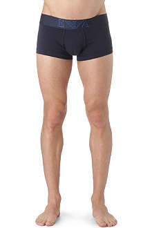ARMANI Logo-detailed stretch-cotton trunks