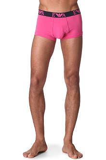 ARMANI Stretch-cotton trunks