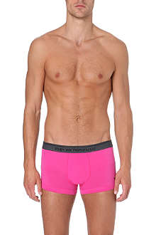 EMPORIO ARMANI Logo stretch-cotton trunks