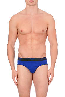 EMPORIO ARMANI Eagle waistband briefs pack of 3