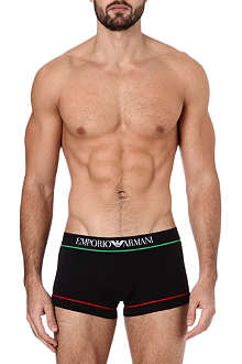 ARMANI Italian flag cotton trunks